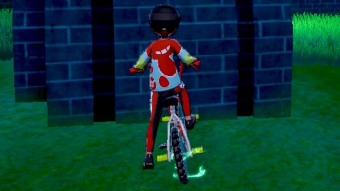 剣盾 自転車 色