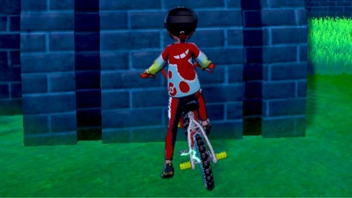 スーツ 剣 盾 サイクリング